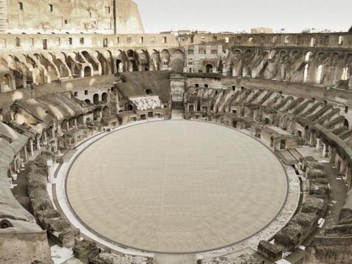 New Floor for Rome's Colosseum