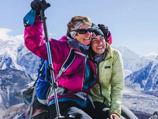 After Beating Cancer, She Climbs Everest with Mother