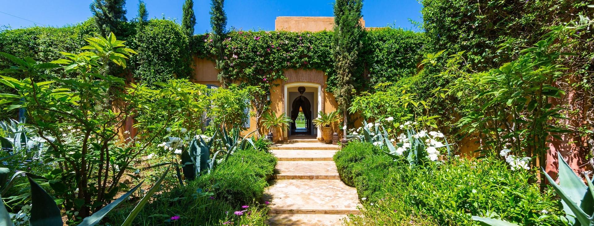 villa-dar-tourtite-marrakech-entrance