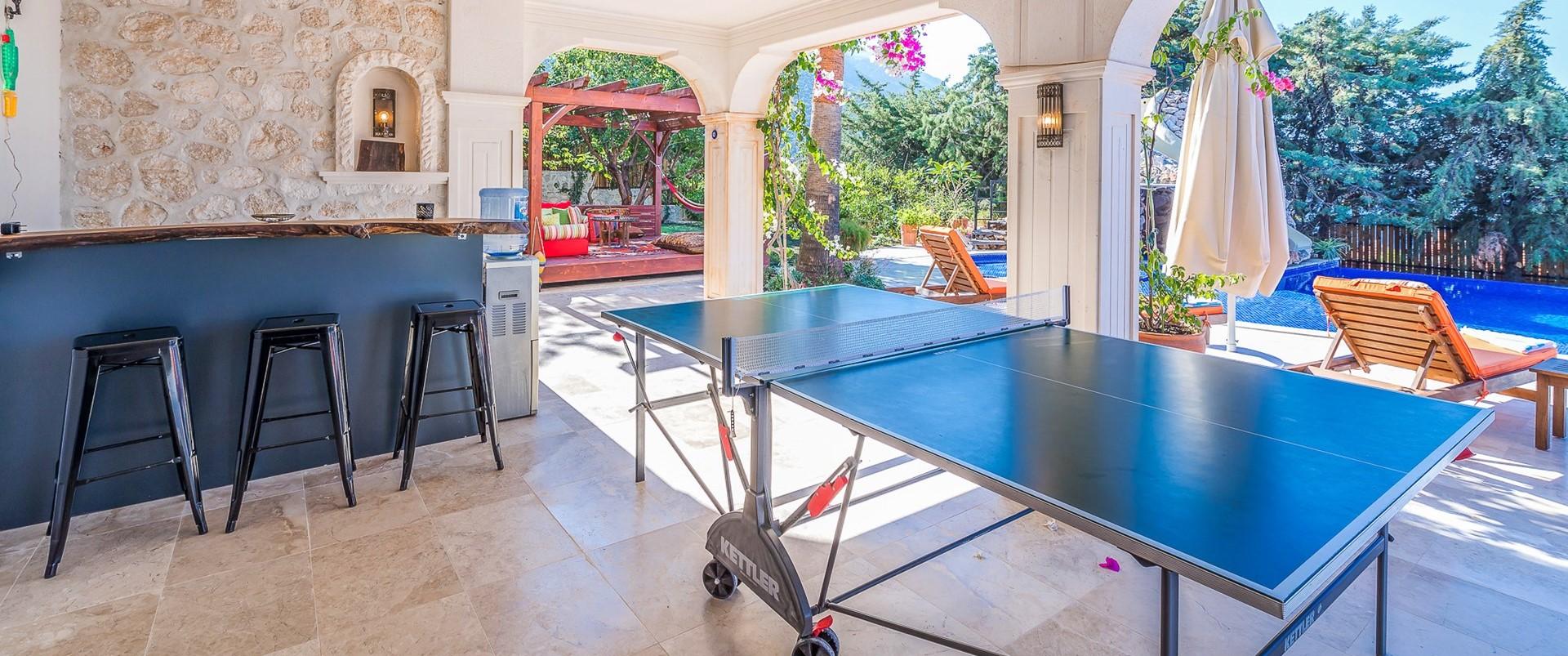villa-caria-kalkan-bar-games-room