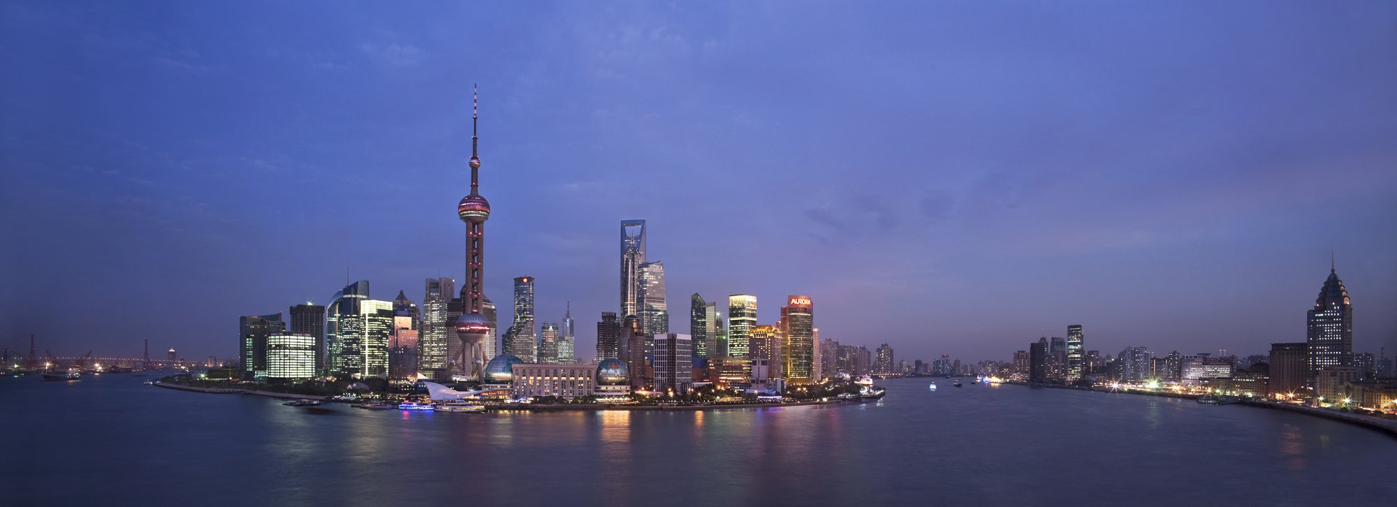 shanghai-skyline-river-view
