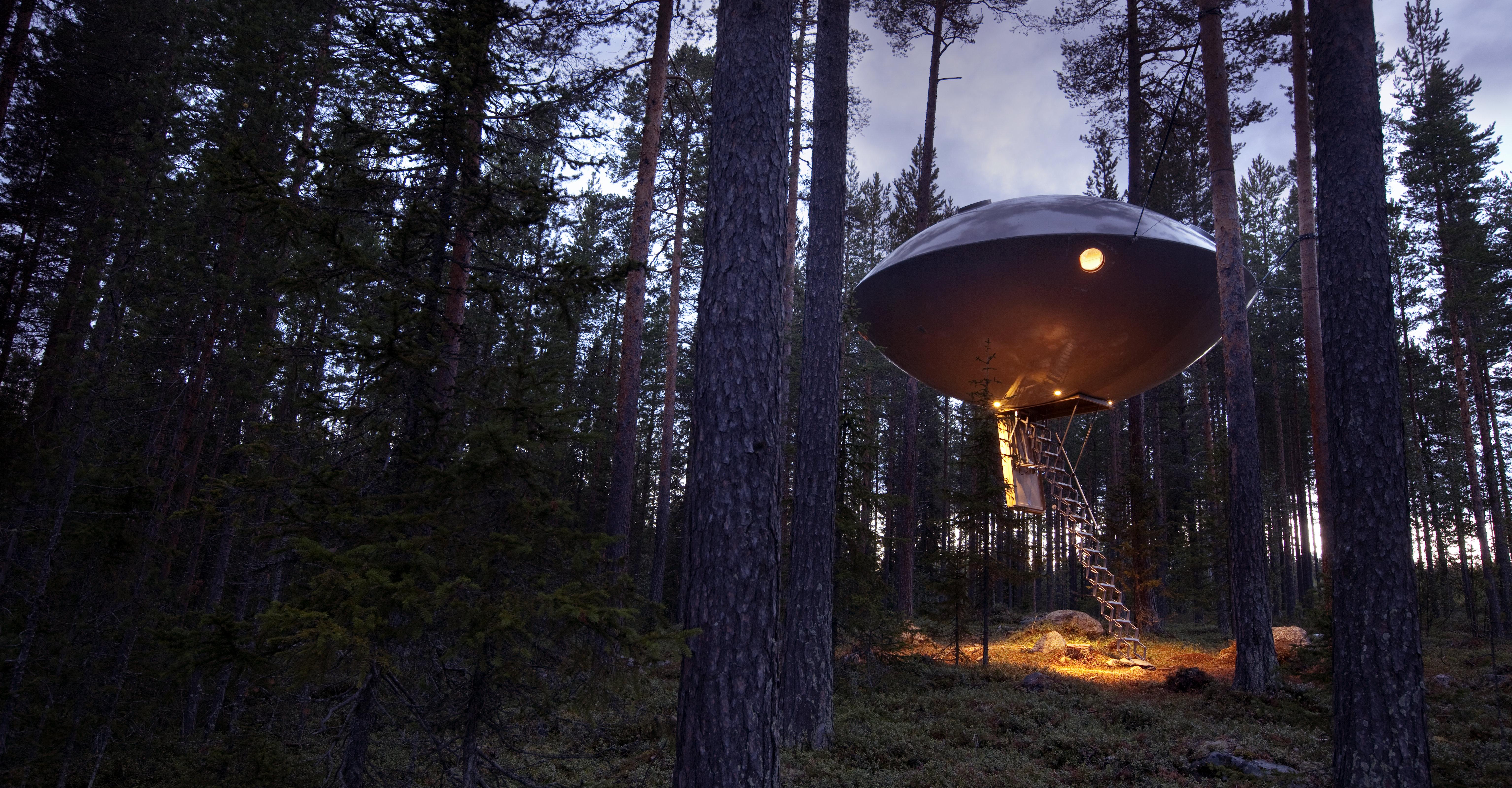 treehotel-ufo-sweden