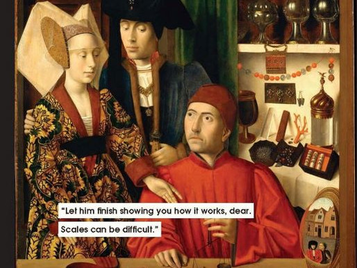 Explaining Mansplaining with 17th Century Art