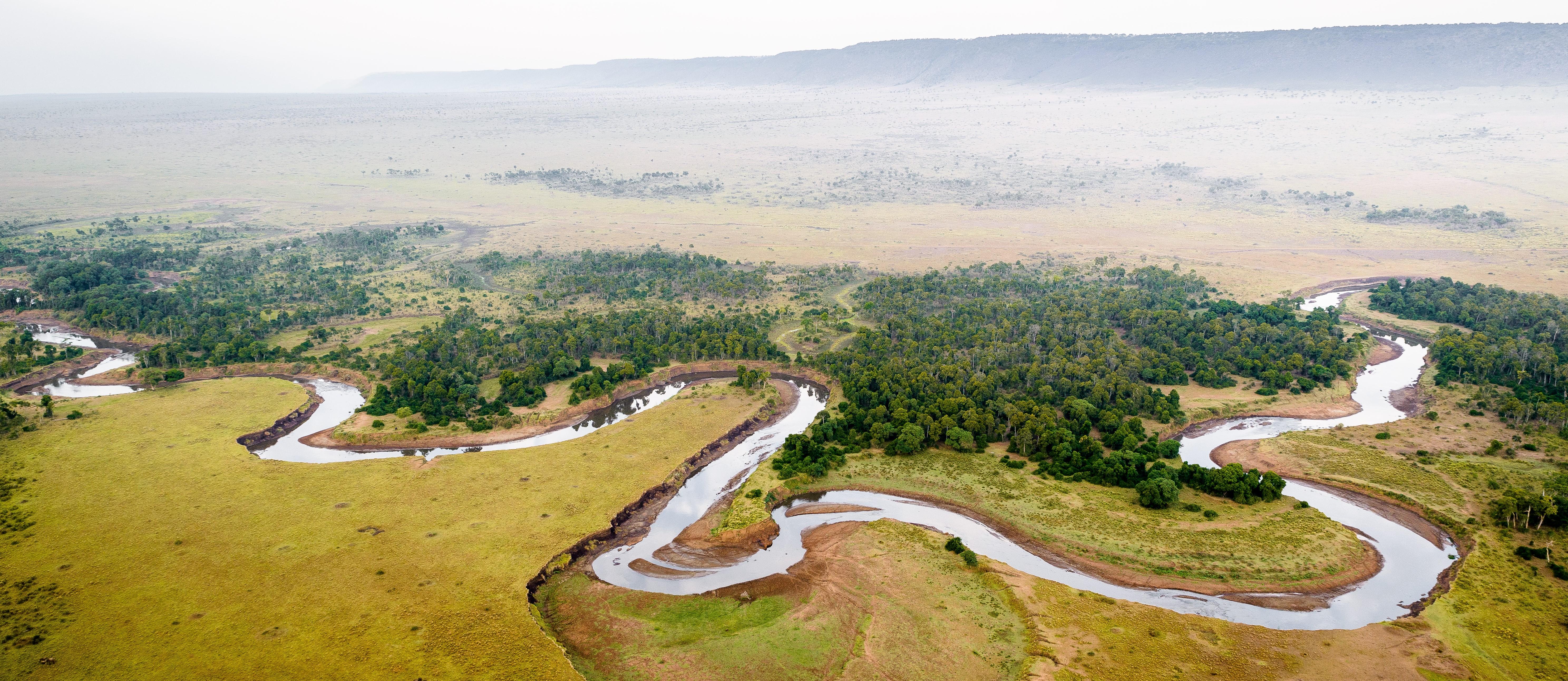 masai-mara-aerial-river-view