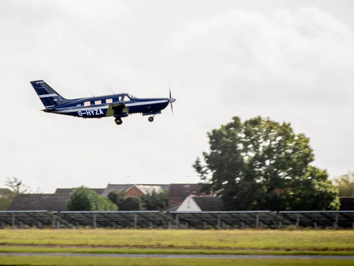 First Hydrogen Plane Takes Off