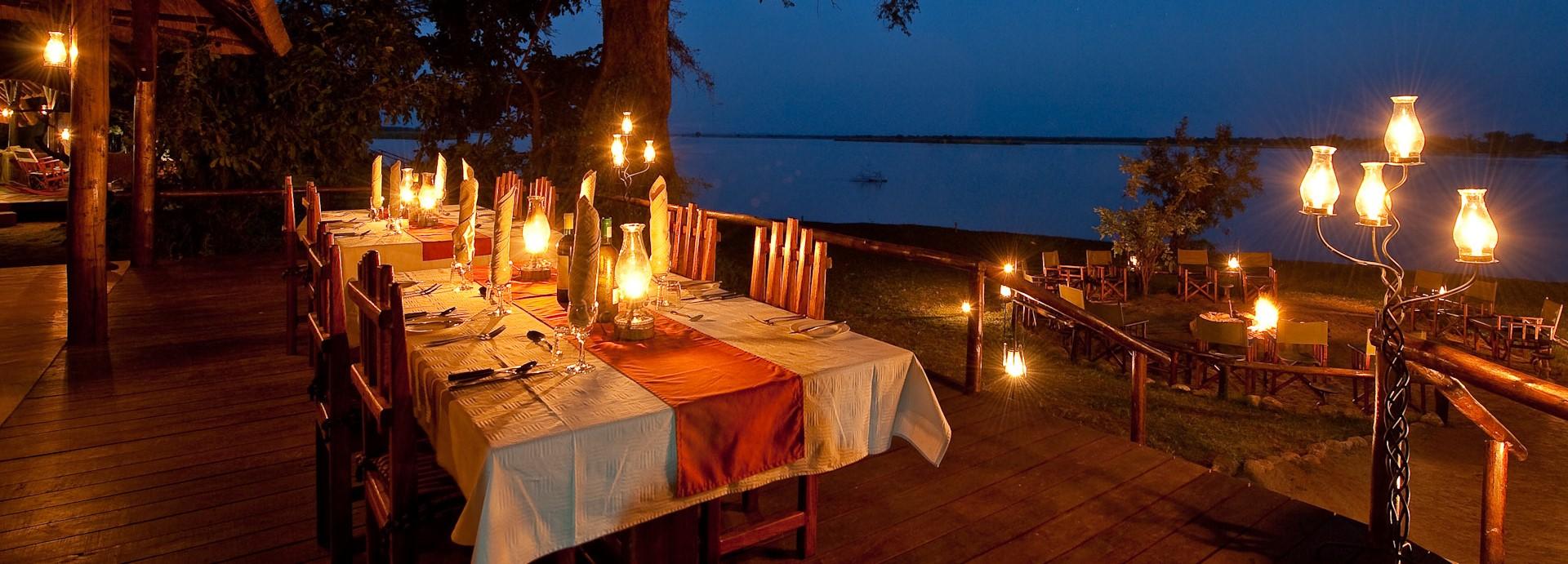chiawa-camp-zambia-dining-deck-night
