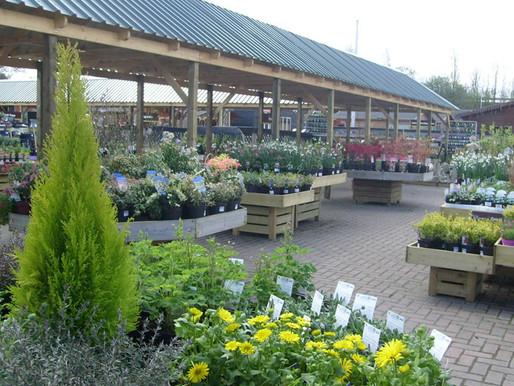 Garden Centres to Re-Open Soon