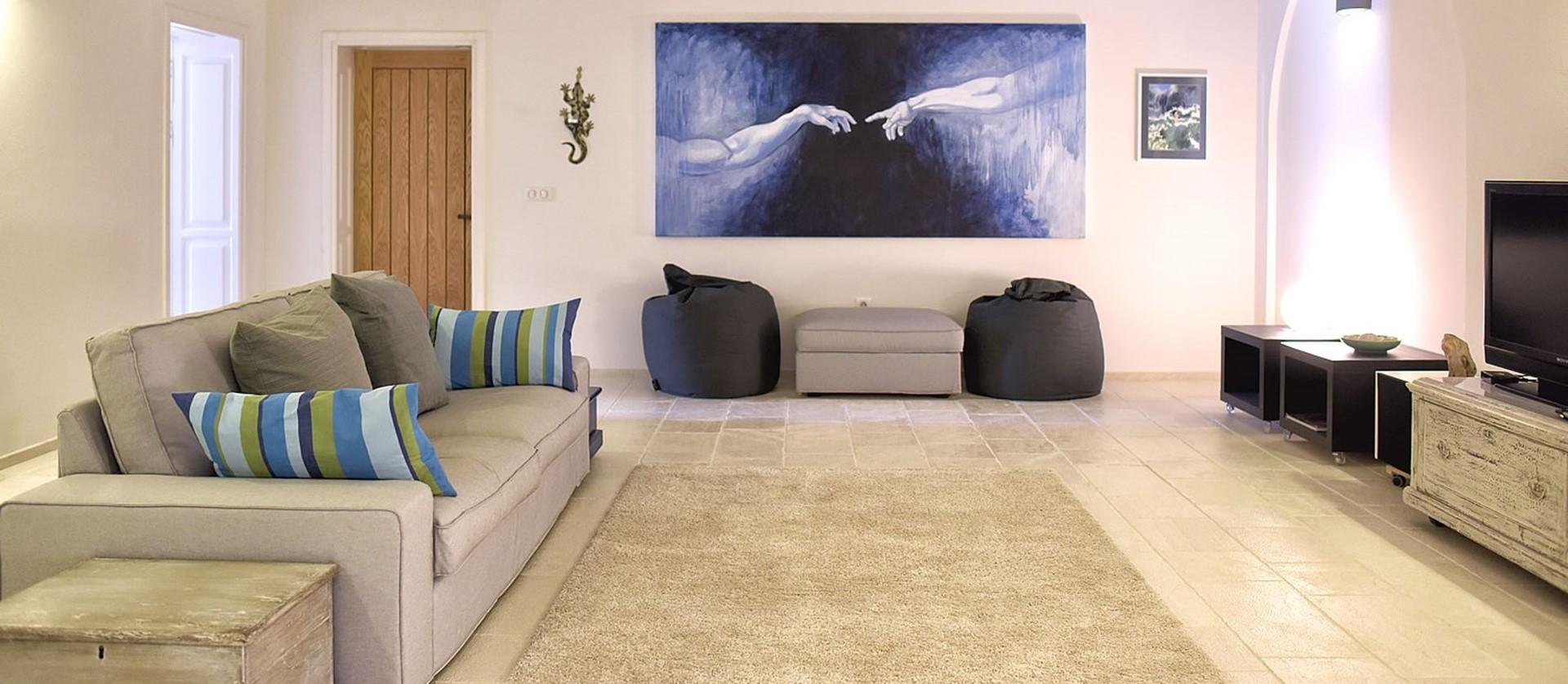 nissaki-house-corfu-media-room