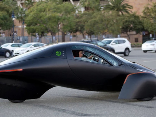 Solar Powered EV Does 0 to 60 MPH in 3.5 Seconds