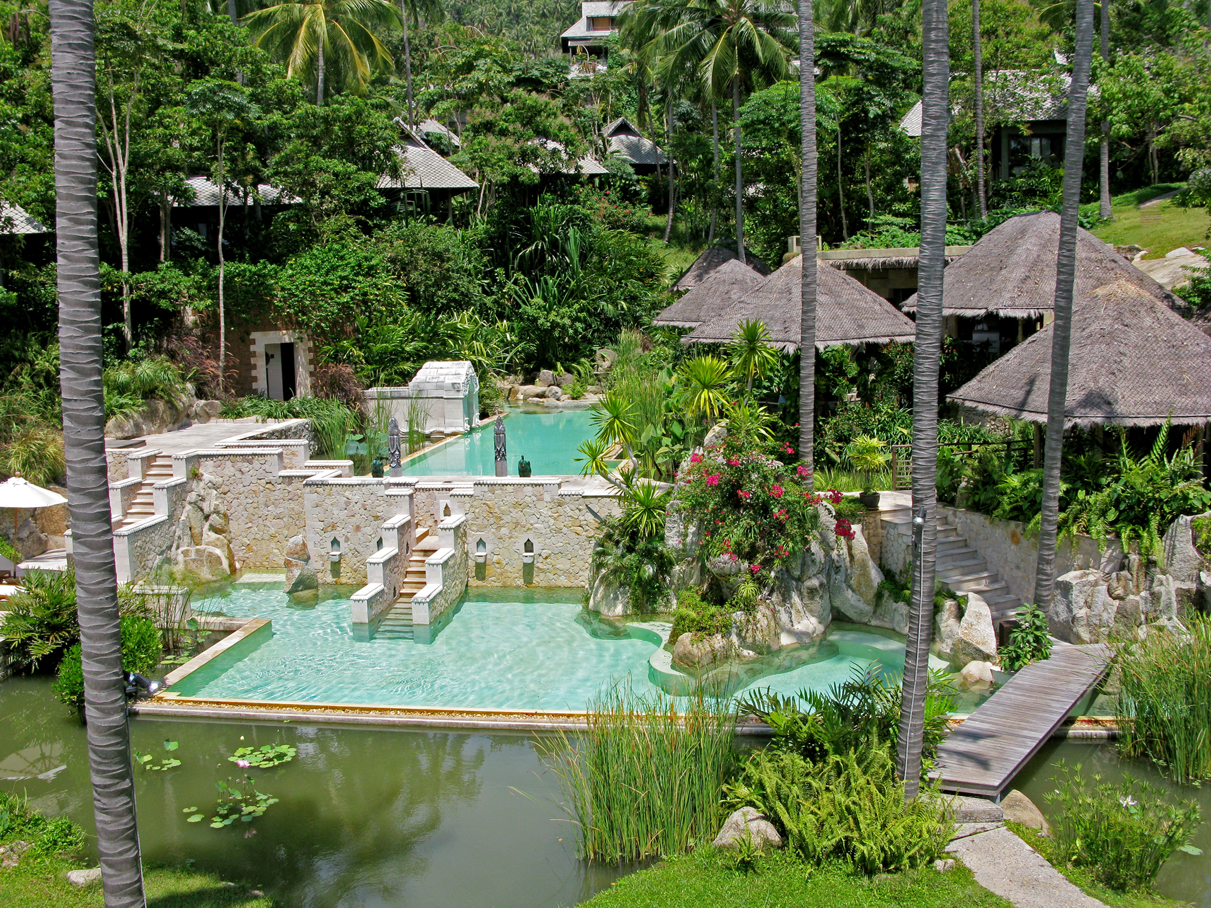 Kamalaya-swimming-pools