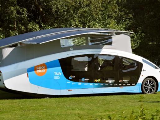 Solar-Powered Home on Wheels