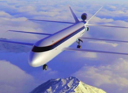 Tri-Wing Jumbo Jet