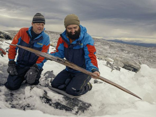 1,300 Year Old Skis Found in Norway