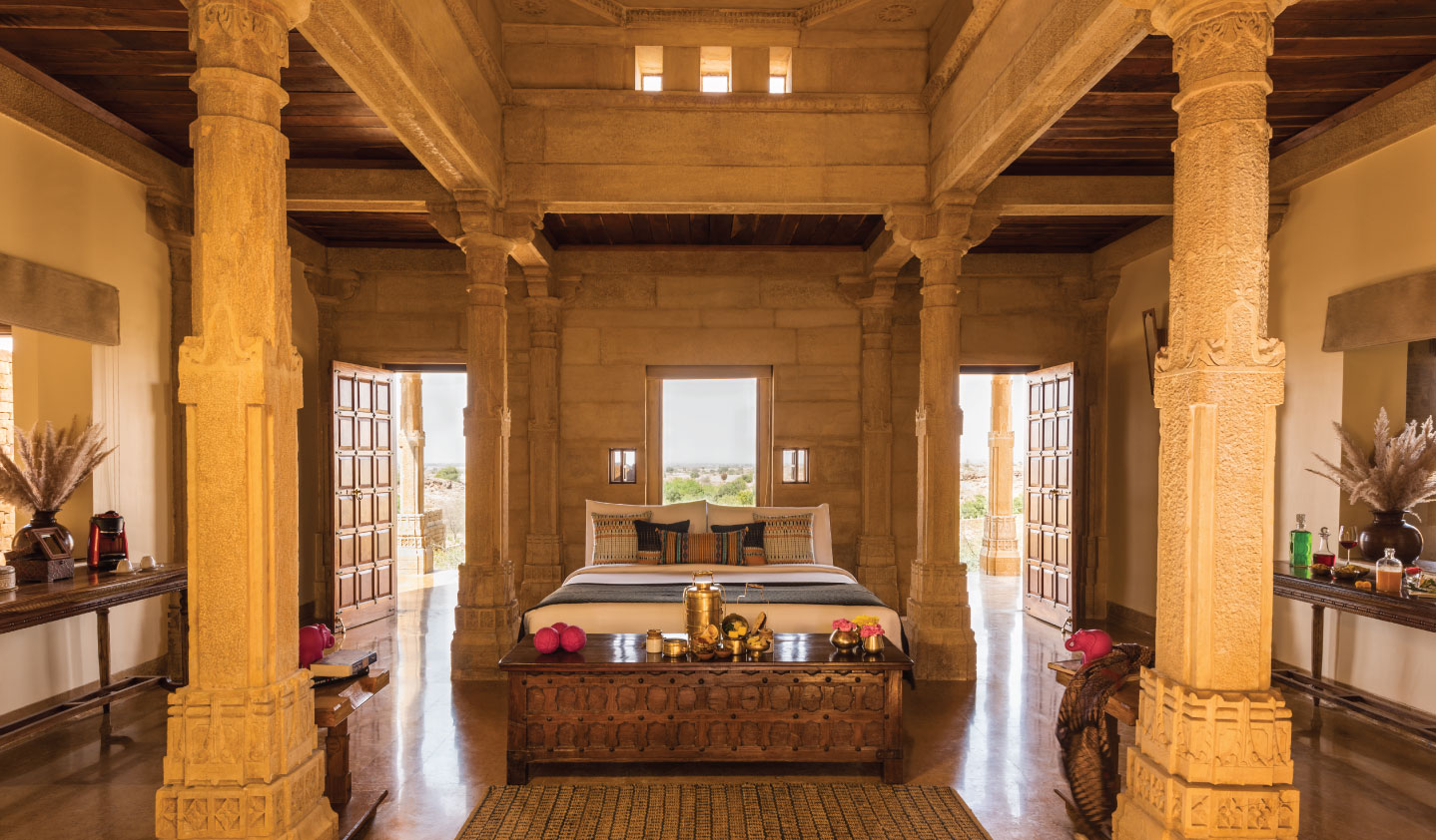 Suryagarh-Jaisalmer-Haveli-Bedroom