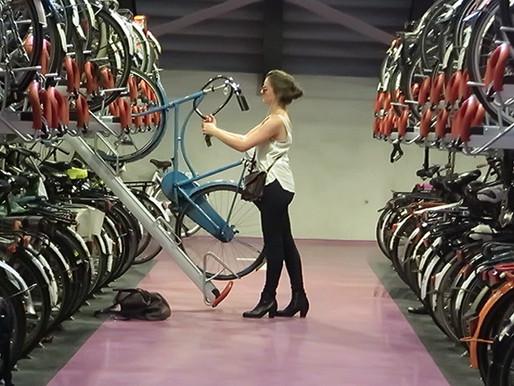 Bike Storage Reaches New Heights