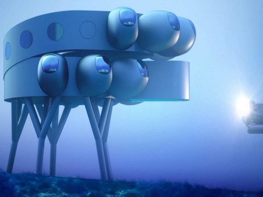 Underwater 'Space Station'