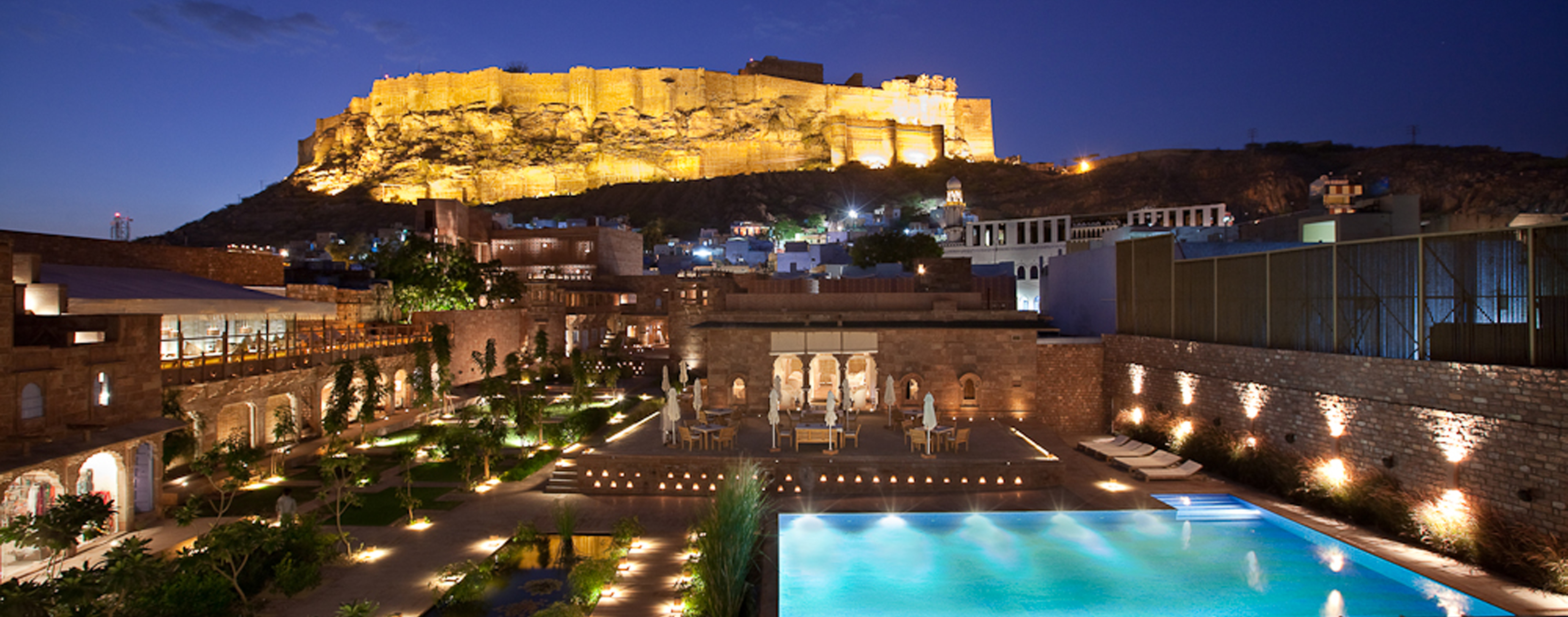 RAAS-Jodhpur-night-view