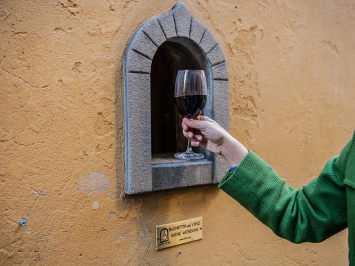 Ancient Florentine Wine Windows Revived