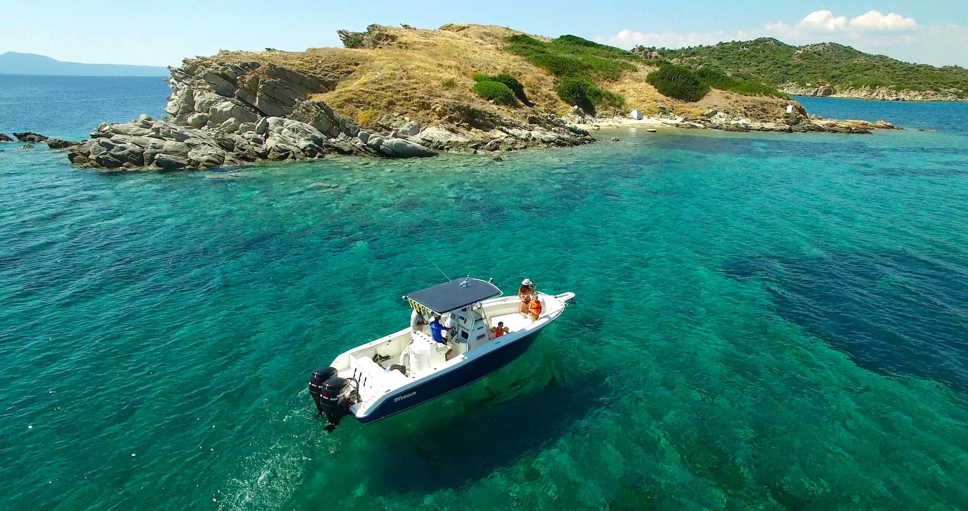 island-boat-trips-halkidiki