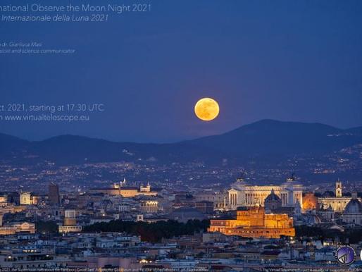 Tonight is International Observe the Moon Night