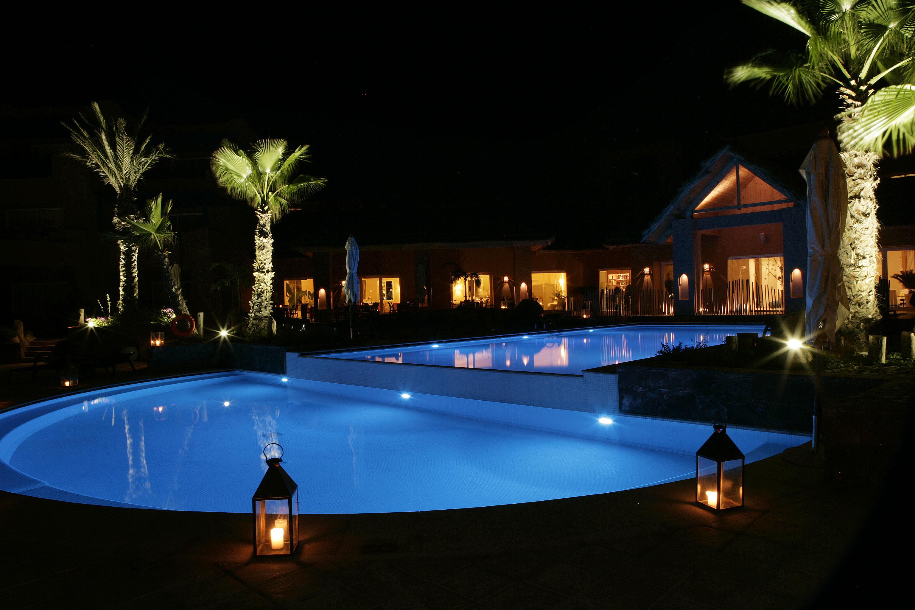 paradis-plage-agadir-pool-at-night