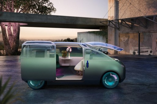 Mini's Concept Car is a Living Room on Wheels