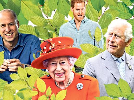 Going Green Unites British Royal Family