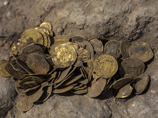 Ancient Coins Found in Israel