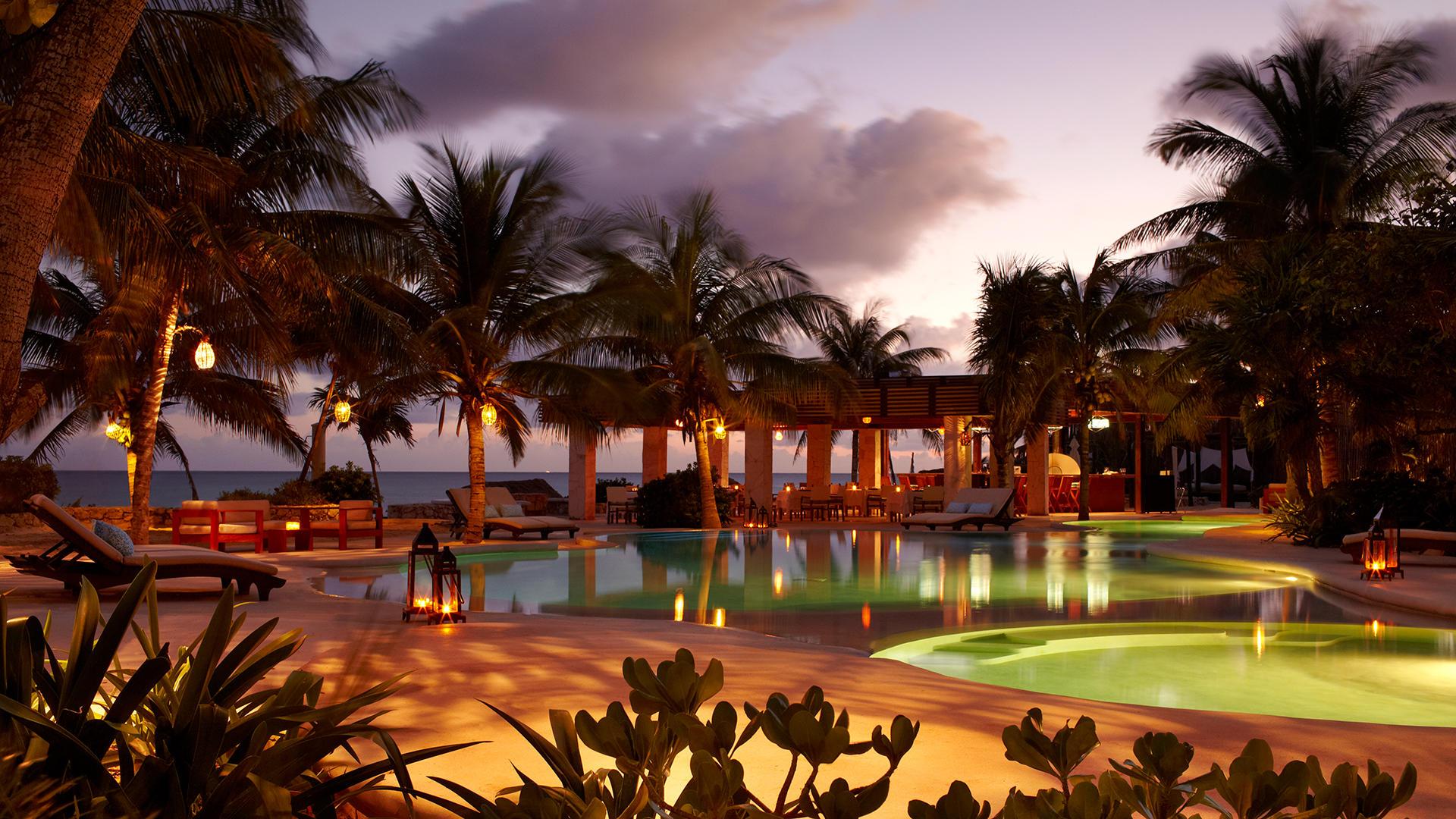 viceroy-riviera-maya-pool-twilight
