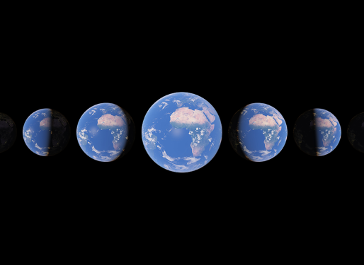 Google Earth's New Feature: Time