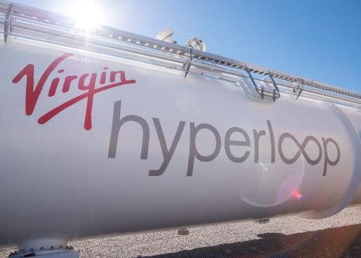 First Passengers in Hyperloop