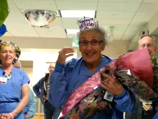 Oldest Working Nurse in USA