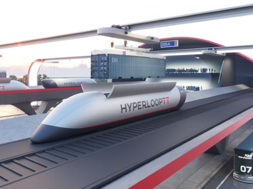 Ground Transport at Airplane Speeds