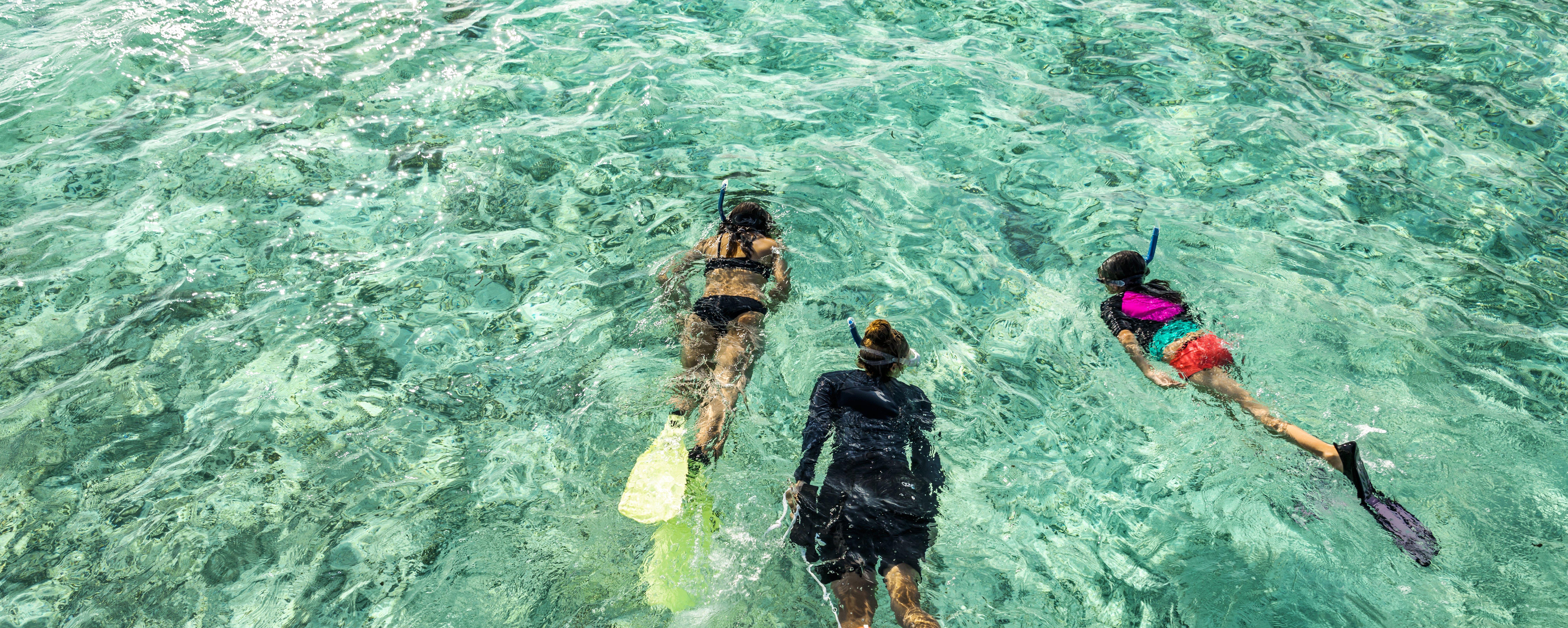 kids-snorkelling-maldives