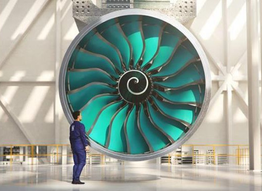World's Largest Aero-Engine