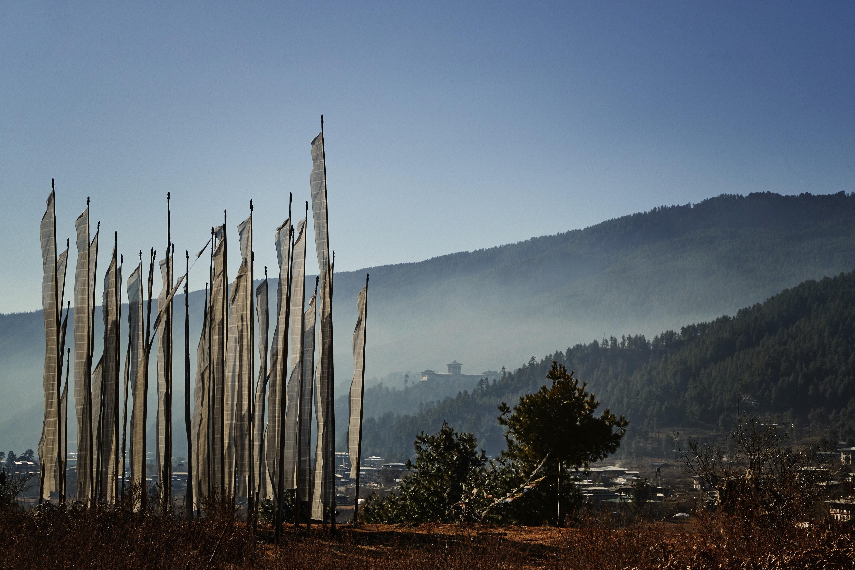 Jakar-Dzong-Bhutan-prayer-flags