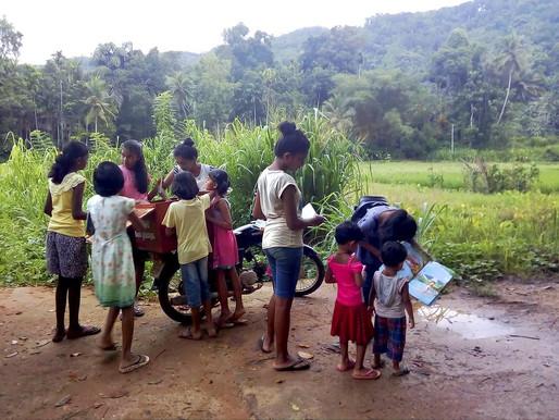 Books by Bike for Kids in Rural Sri Lanka