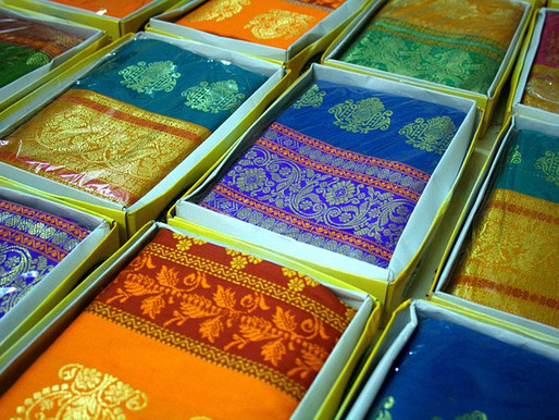 The Beauty of India's Saree Libraries