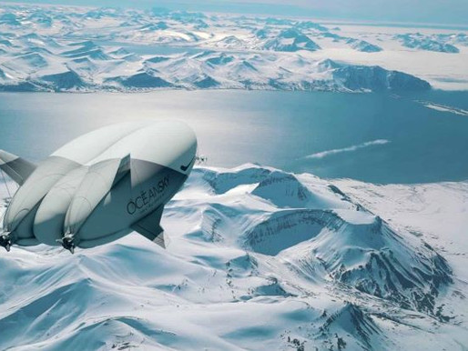Luxury Airship to North Pole