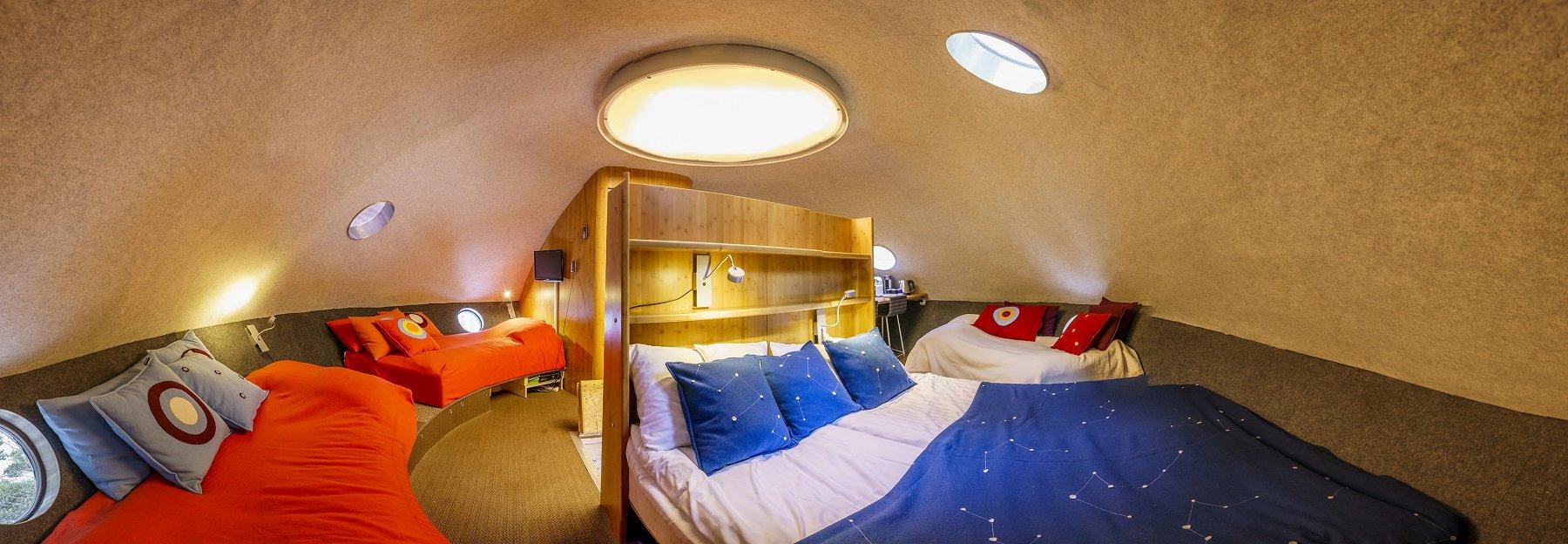 Treehotel-Harads-ufo-interior