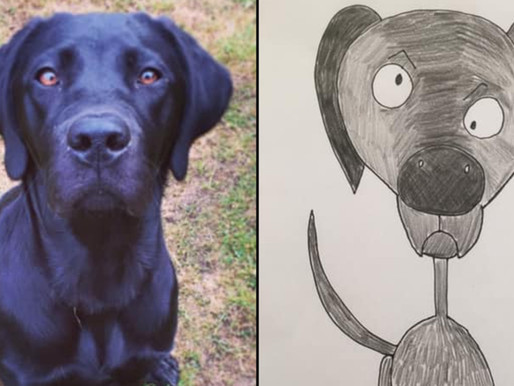 Crappy Pet Portraits Work Wonders