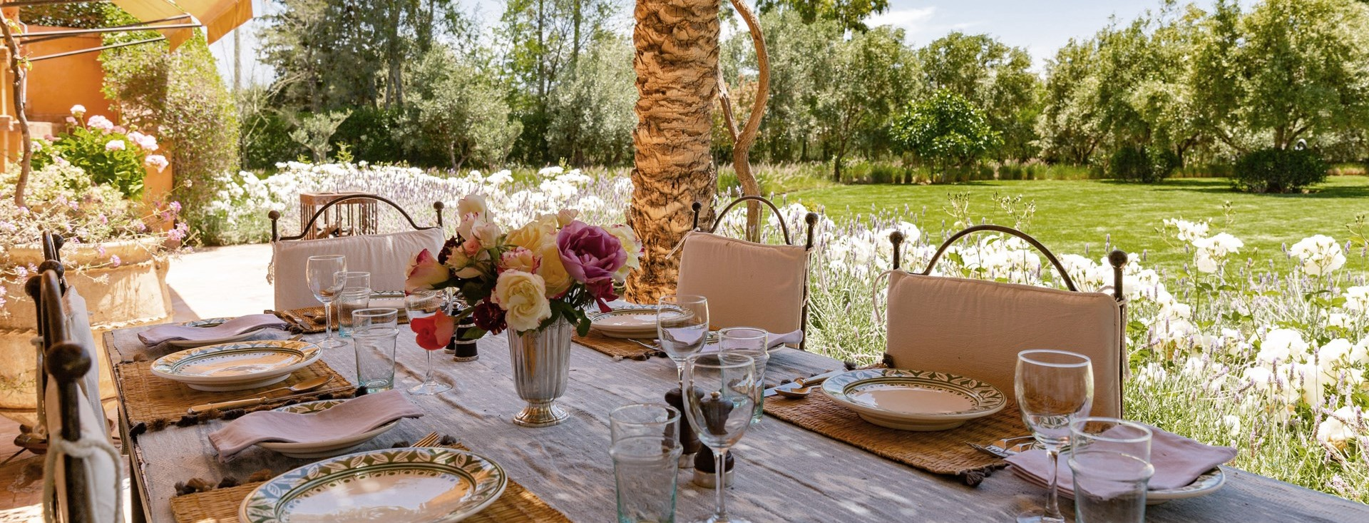 villa-dar-tourtite-marrakech-gardens