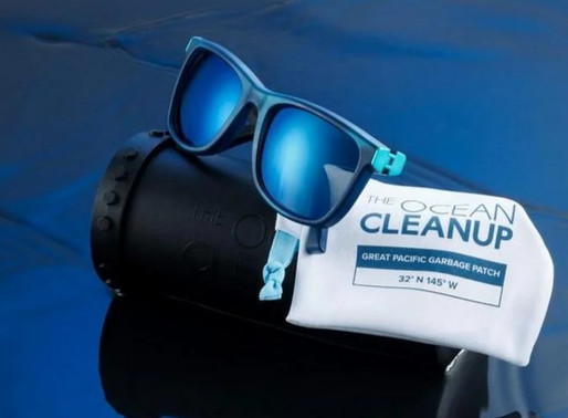 Sunglasses are First Ocean Waste Product