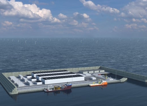 Denmark's Artificial Energy Island