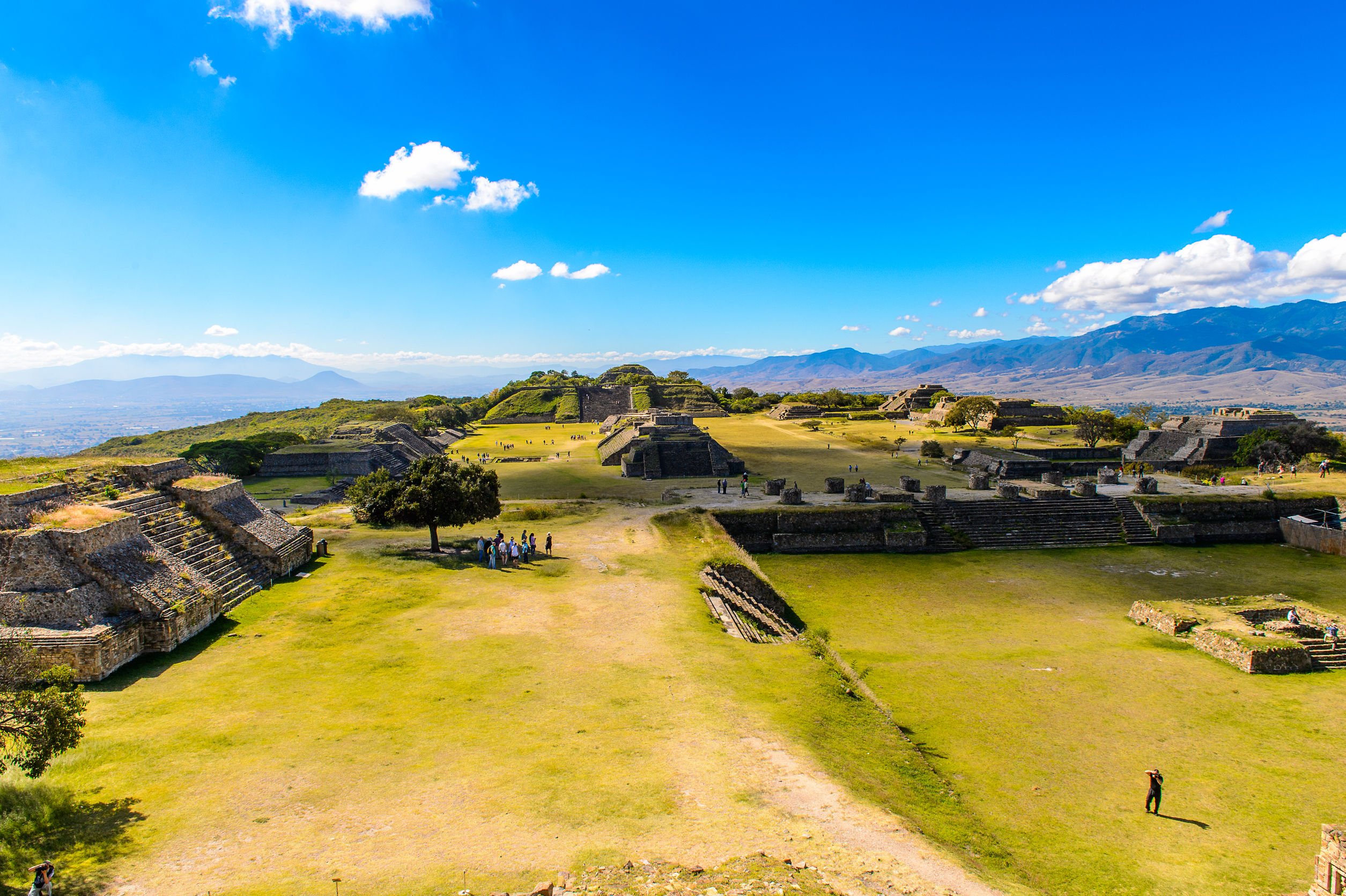Monte-Alban-ruins