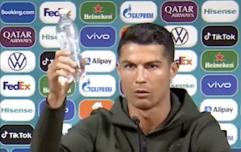 Cristiano Ronaldo Scores Against Coca-Cola