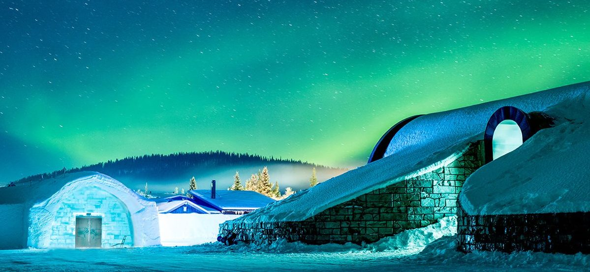 icehotel-northern-lights