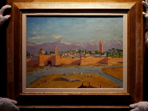 Churchill Painting Sells for Record