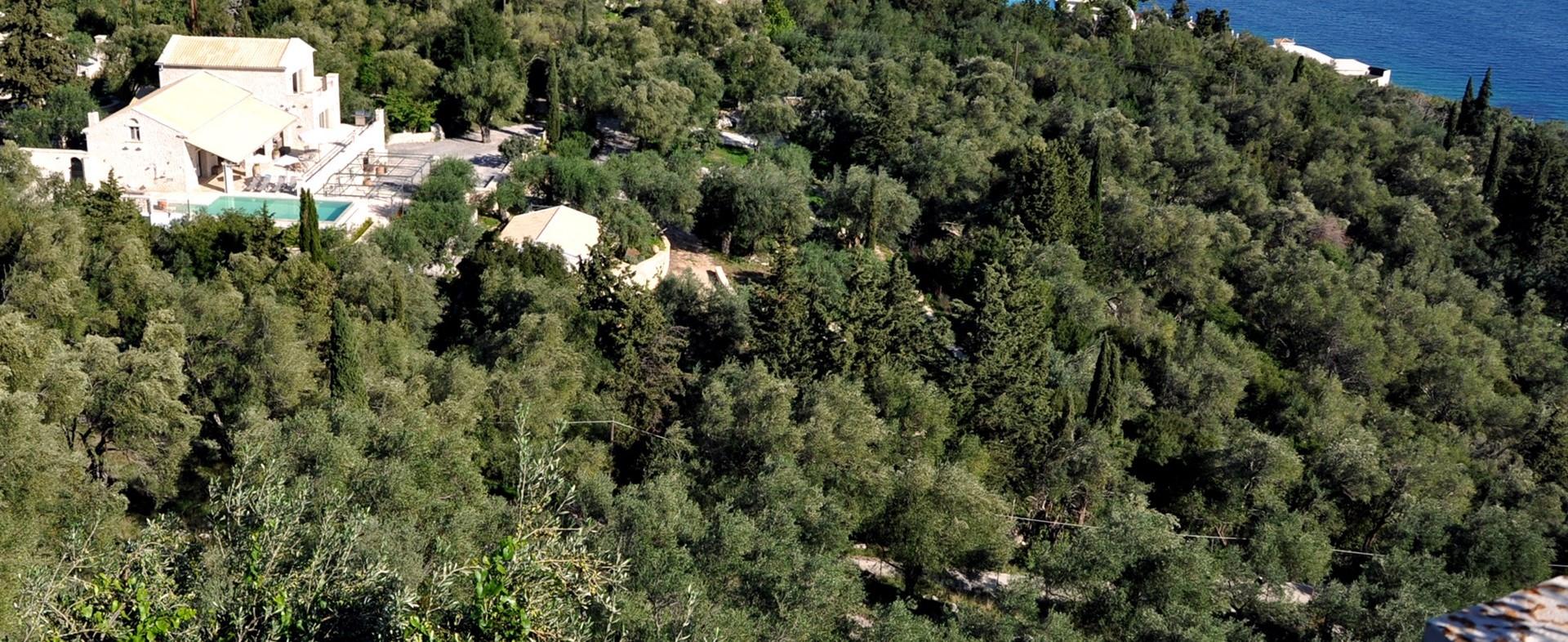 nissaki-house-corfu-aerial