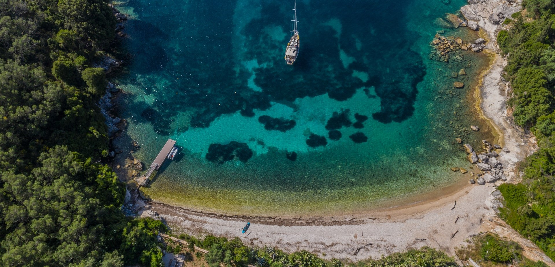 pebble-bay-corfu-aerial